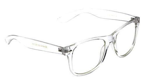 new wayfarer plastic transparent clear frame glasses