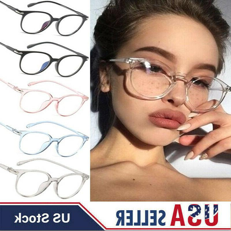 fashion clear glasses frame women round eyeglasses
