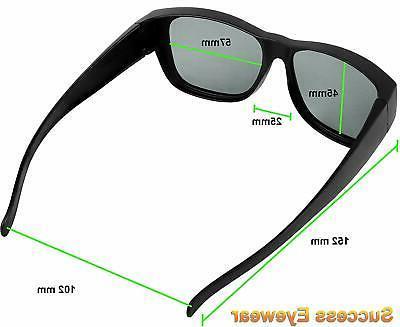 Wear over Prescription Eyeglasses Unisex for a