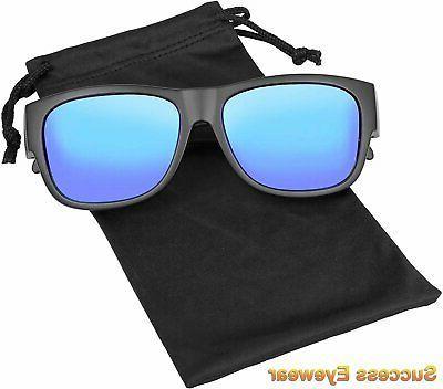 Fit Sunglasses Polarized Wear Eyeglasses Unisex for...