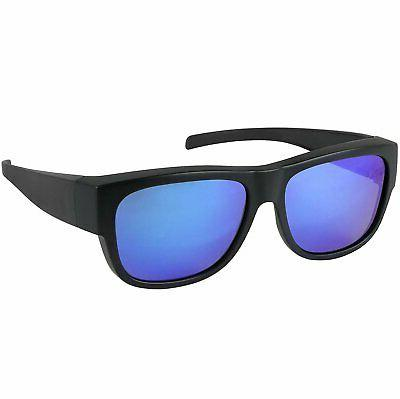 Fit Over Sunglasses Polarized Wear over Prescription Eyeglas