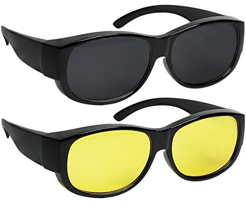 fit over sunglasses with polarized lens 100