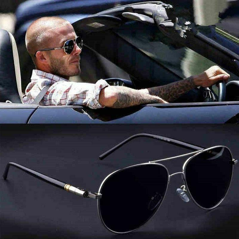 Frame Quality Oversize Sunglasses Polarized Design Pilot Men