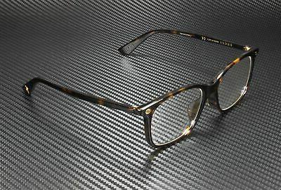 gg 0157o 002 havana plastic square eyeglasses