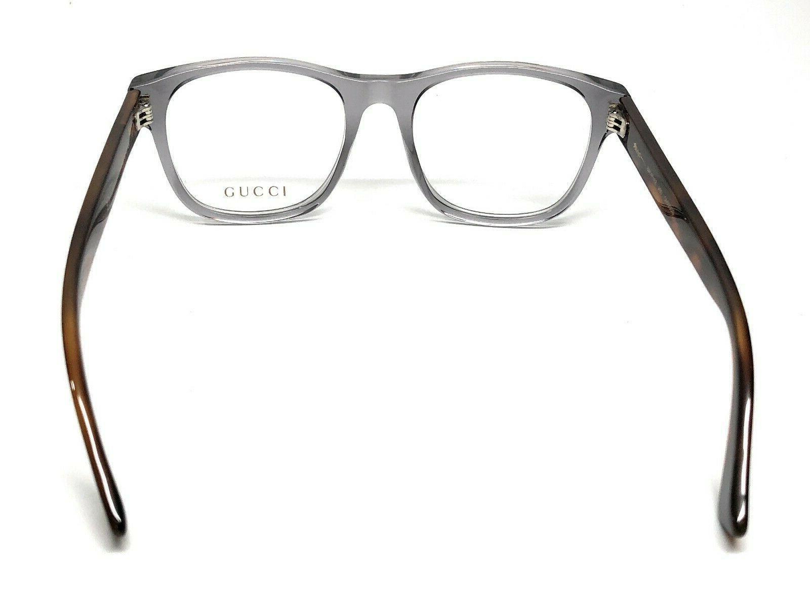 Gucci GG0004O Havana Men's Eyeglasses