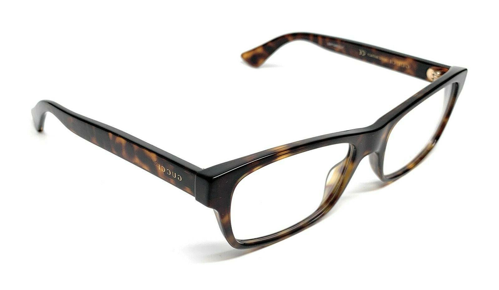 Gucci 011 OVAL 55 Eyeglasses