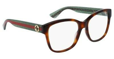 Gucci SQUARE HAVANA 54 Women's