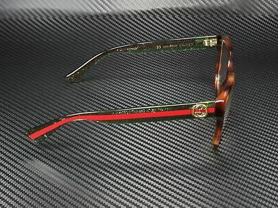 Gucci GG0038O RECTANGULAR SQUARE 54 Women's Eyeglasses