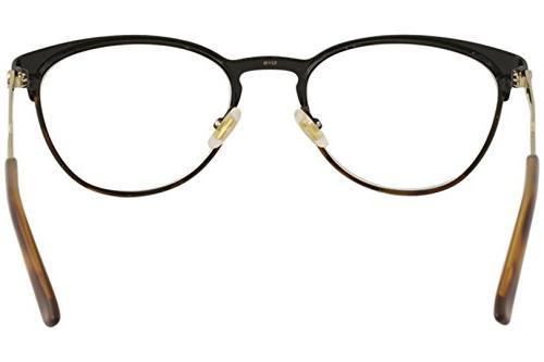 Gucci Womens Round Eyeglasses 52