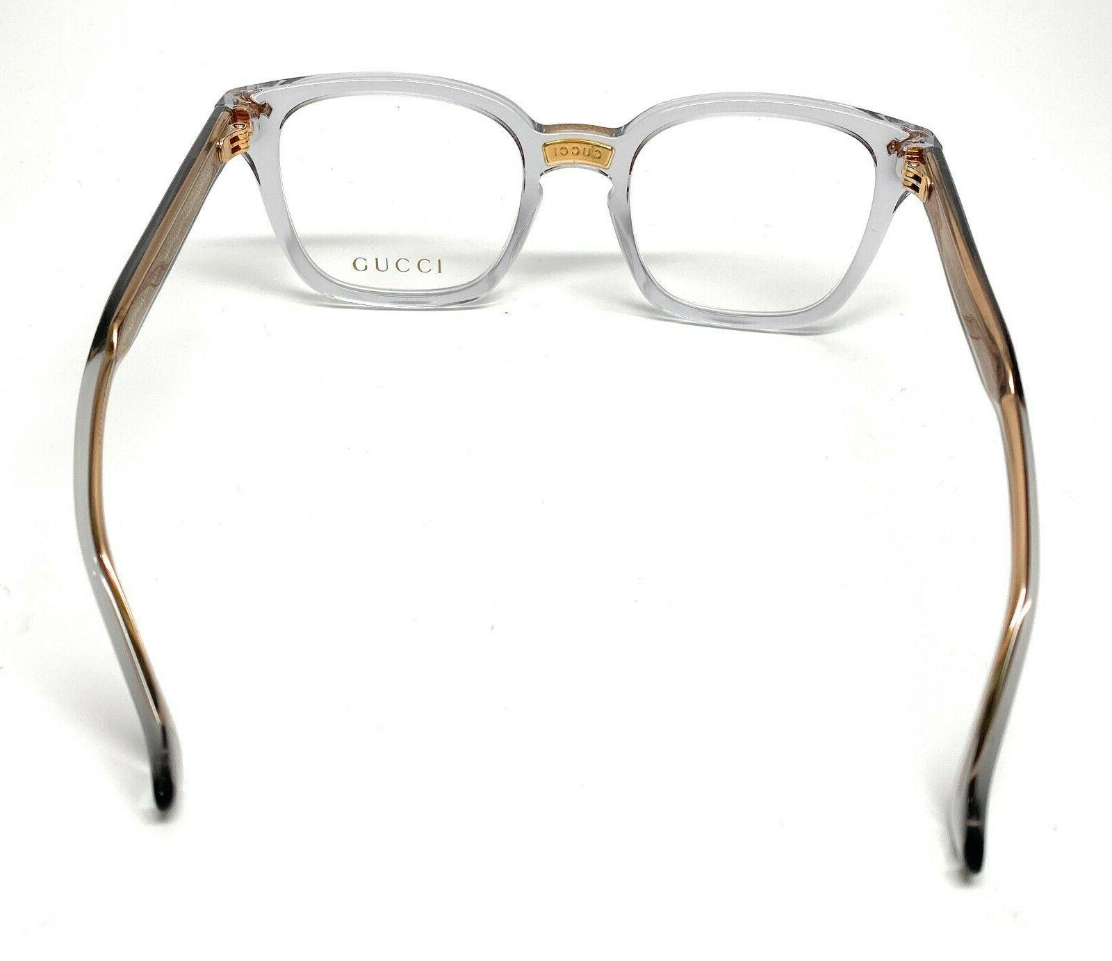 Gucci GG0184O 005 Unisex Authentic Eyeglasses 50-21 A10