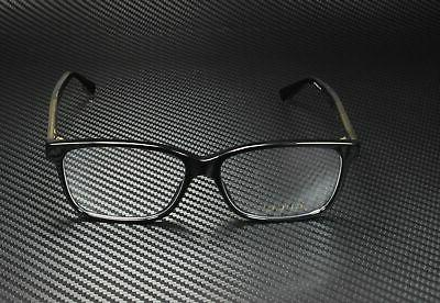 GUCCI Black Shiny Lens mm Eyeglasses