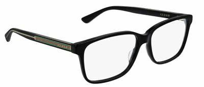 GUCCI 004 Black Demo Lens mm Eyeglasses