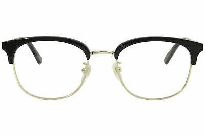 Men's Black/Gold Full Optical 52mm