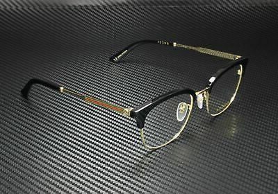 gg0590ok 001 eyeglasses men s black gold