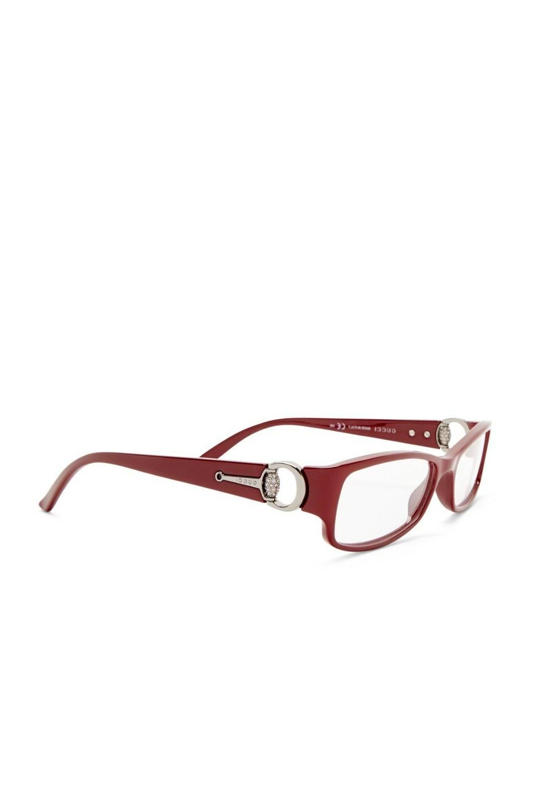 Gucci GG3553 Red w/Crystals Frame 52 16 140***