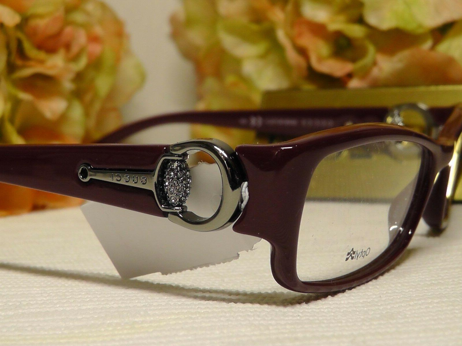 gg3553 red silvertone w crystals rectangle frame