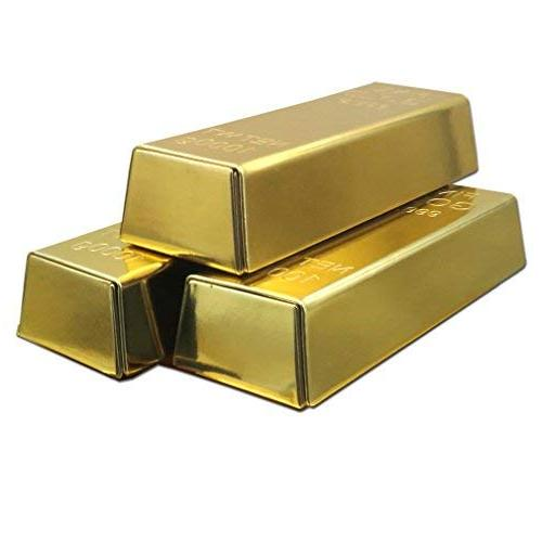 gold bar bullion replica case metal case