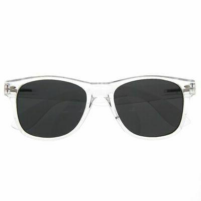 grinderpunch crystal clear frame lens transparent sunglasses