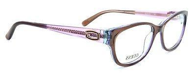 gu2372 brn women s eyeglasses frames plastic