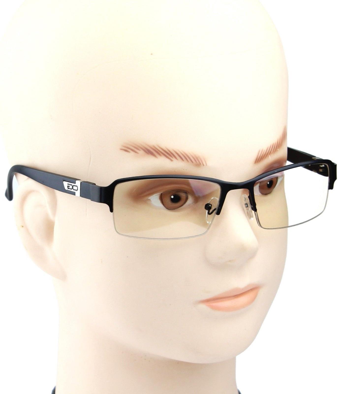 Half Rim Women Eyewear Lens Eye Nerd