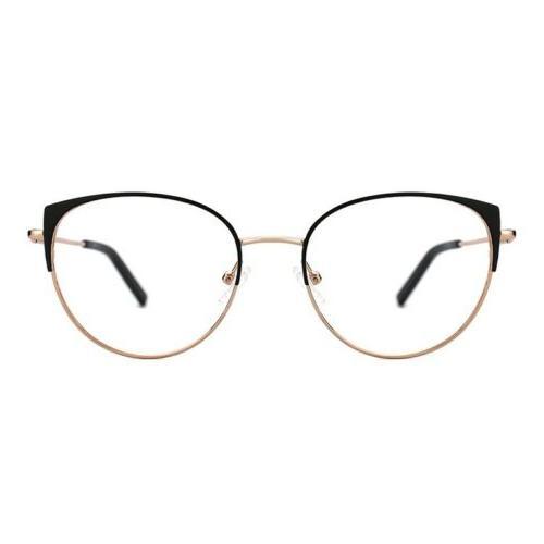 hannah non prescription eyeglasses in black