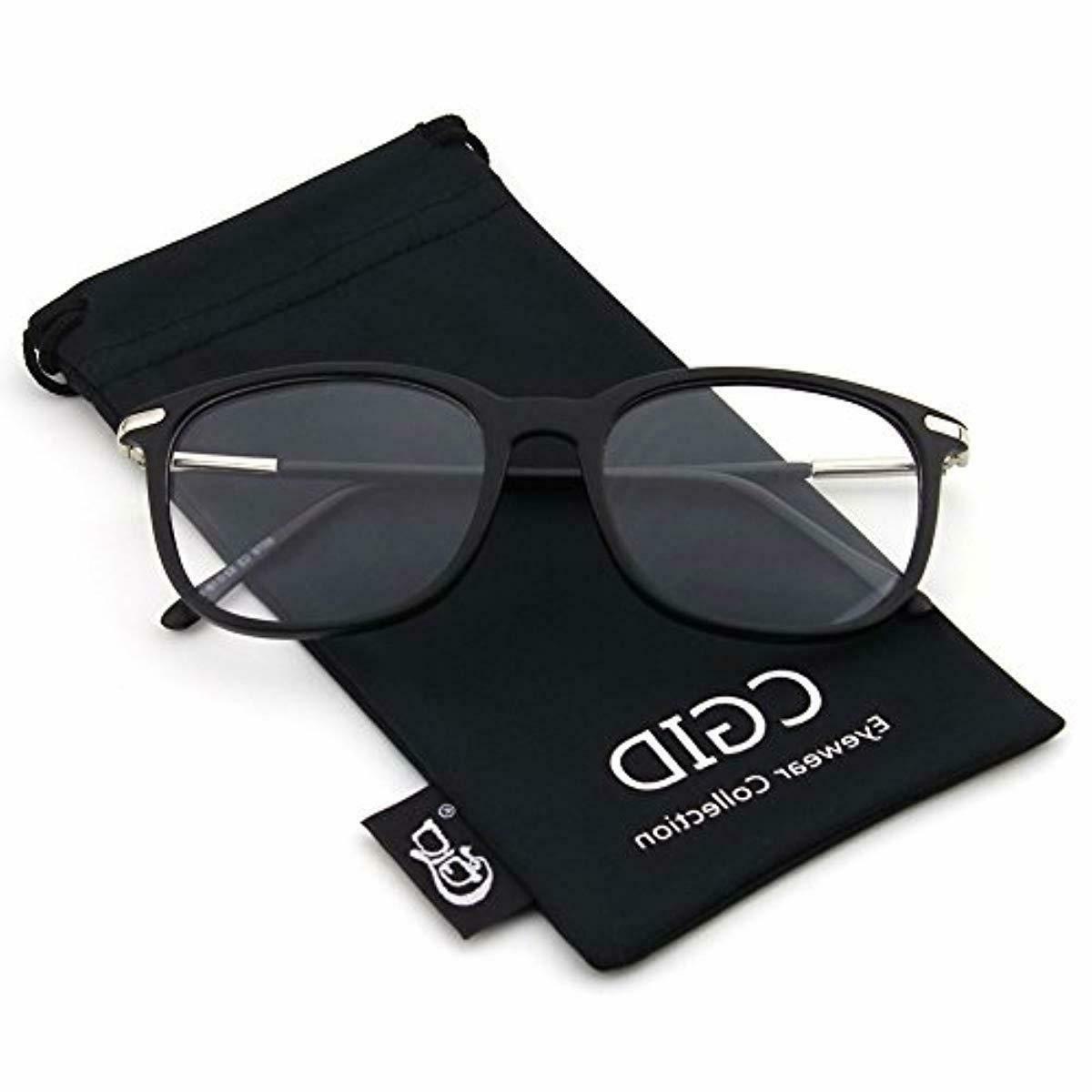 Happy Fashion Temple Rimmed Eye Glasses
