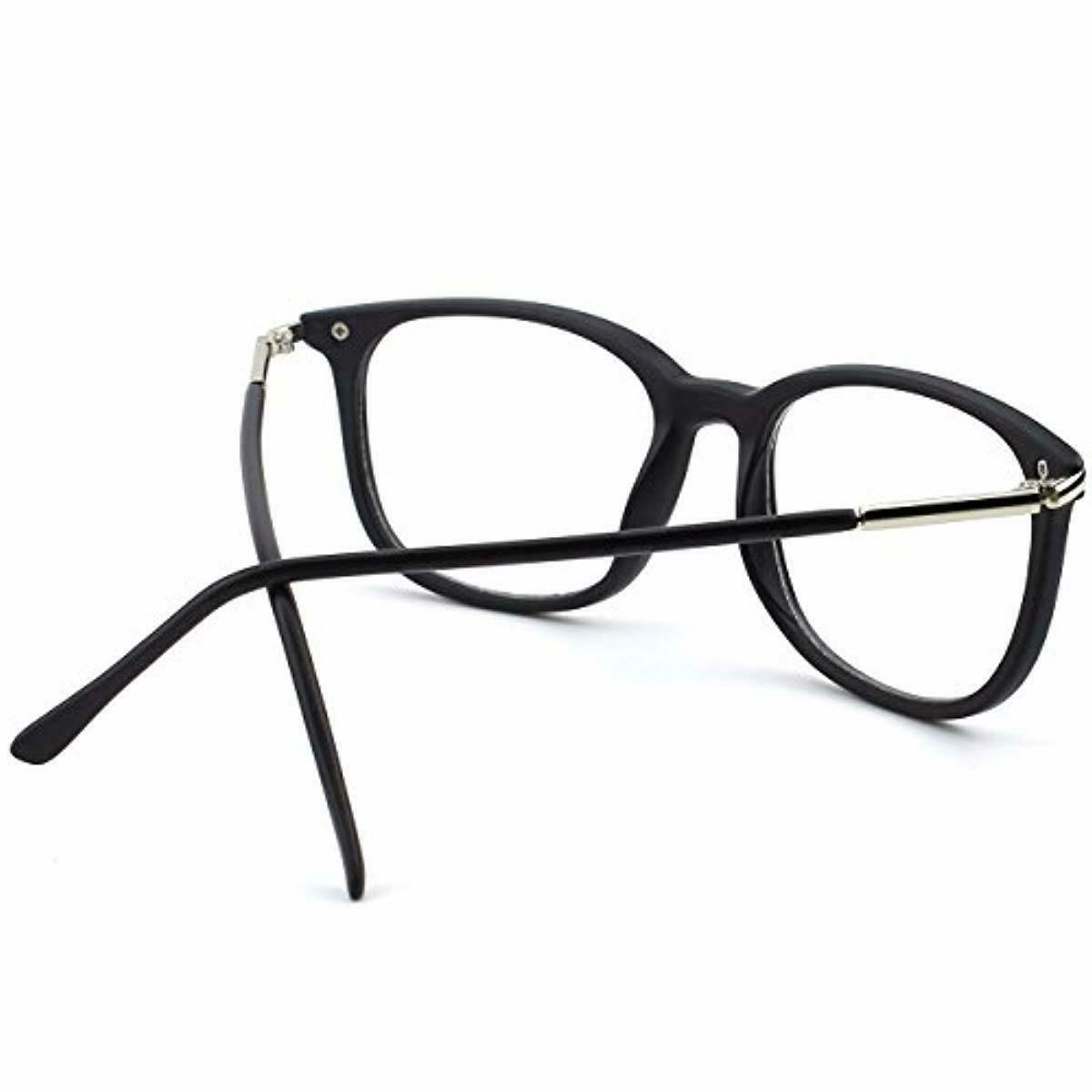 Happy High Fashion Metal Rimmed Lens Glasses