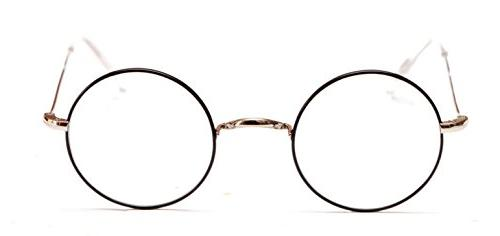 harry potter style round frame eyeglasses by