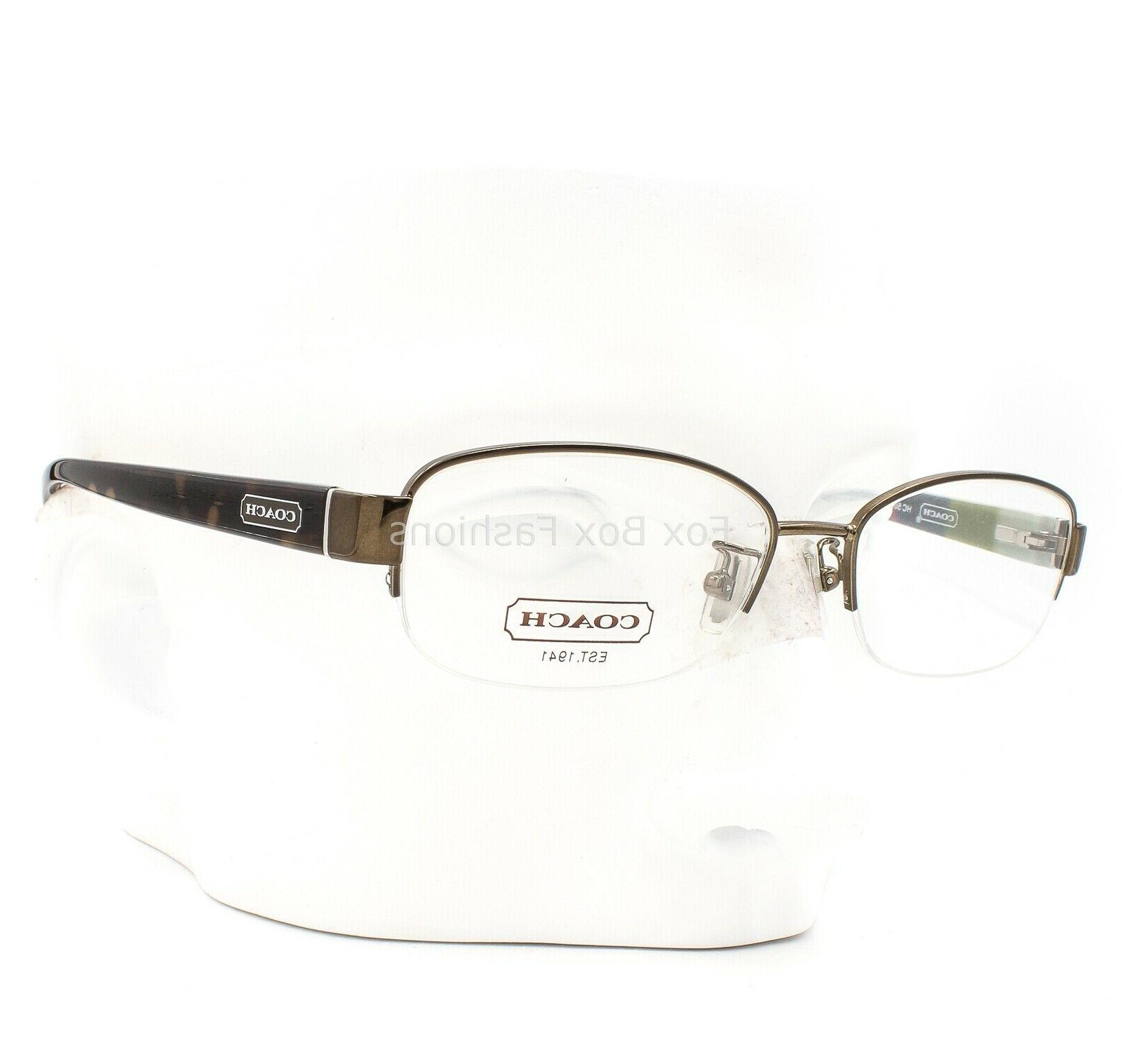 hc 5004 9027 bettie half rimless eyeglasses
