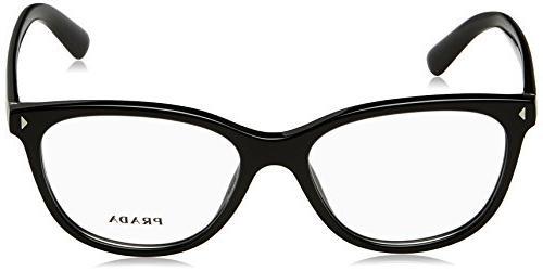 Prada JOURNAL Eyeglass Frames PR14RV-1AB1O1-54