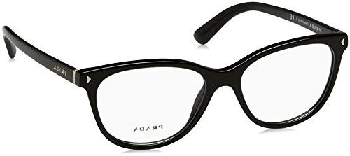 journal pr14rv eyeglass frames 1ab1o1 54 black