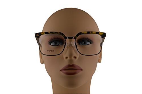 Prada Eyeglasses 54-18-145 Yellow Havana w/Demo UBL1O1 VPR15S VPR 15SV