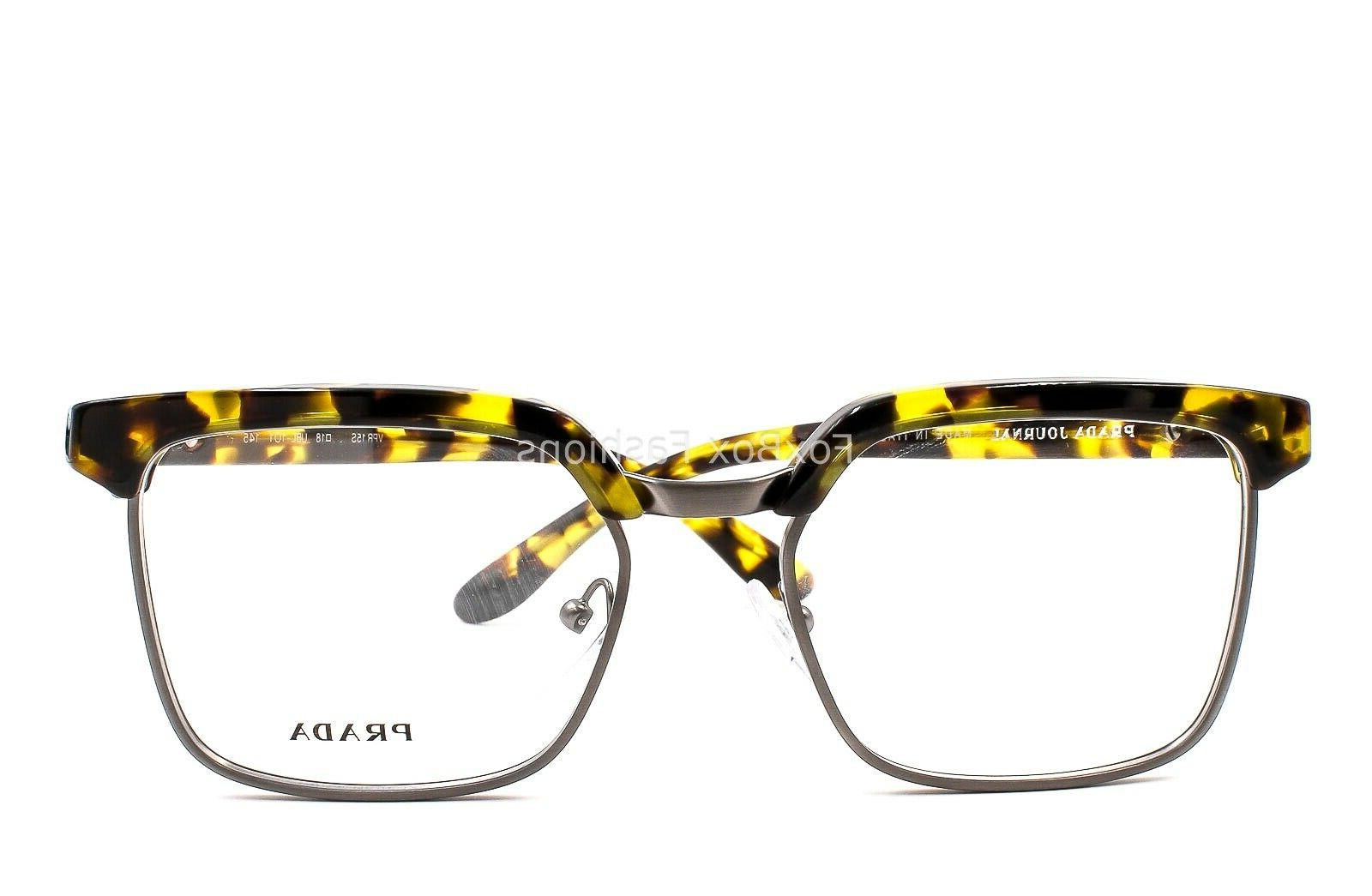 PRADA UBL-1O1 Glasses Yellow Havana 54mm