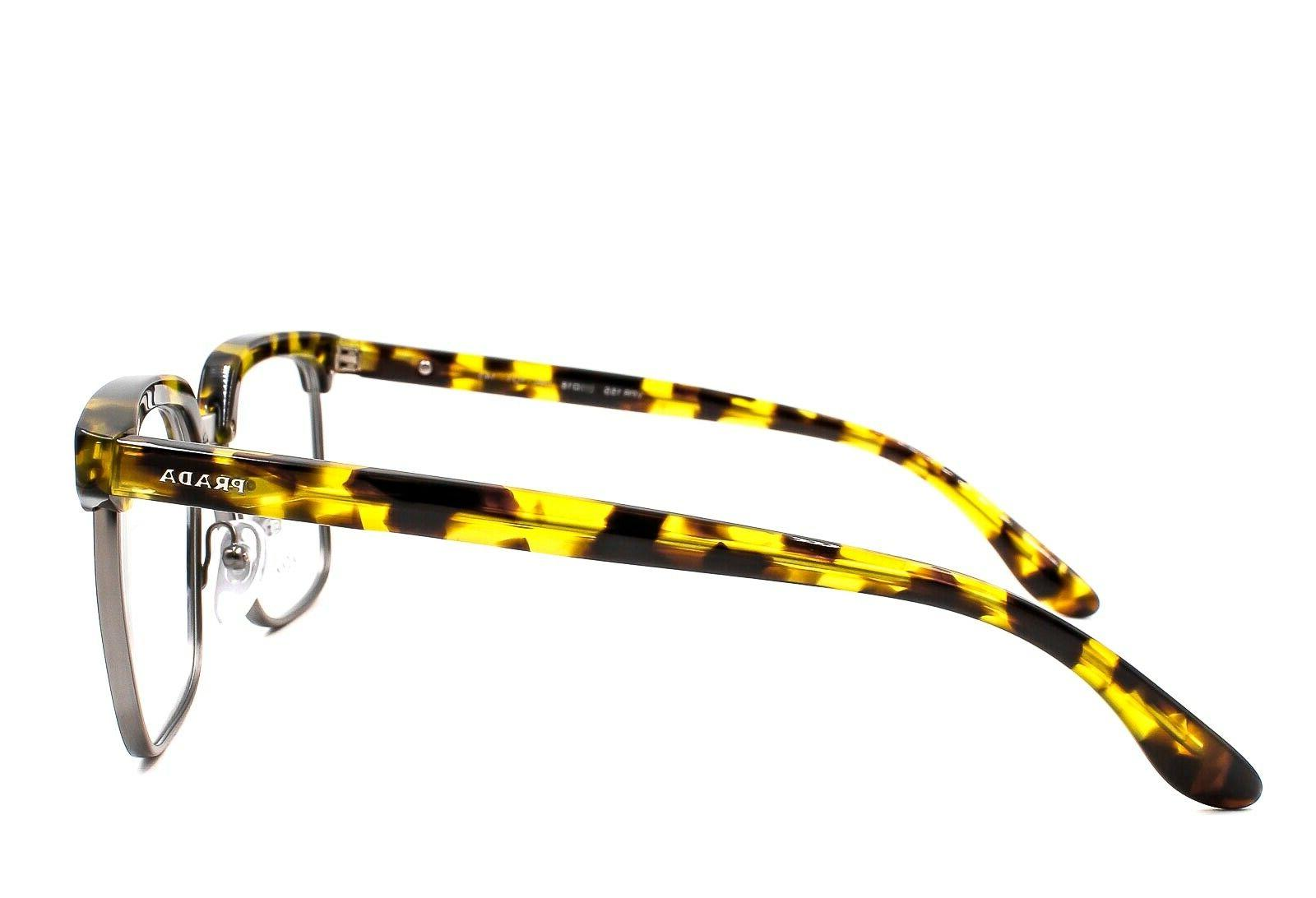 PRADA JOURNAL VPR UBL-1O1 Clubmaster Glasses Yellow