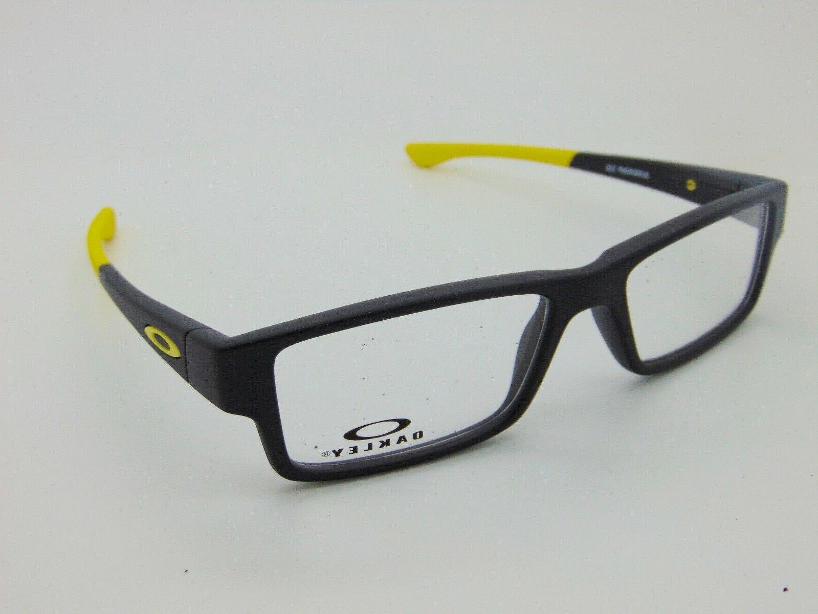 OAKLEY Junior AIRDROP XS OY8003-0648 Steel/Yellow 48mm Kids