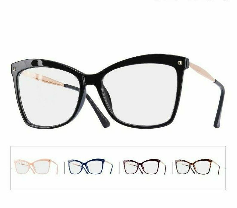 Ladies Frame Eyeglasses Clear Lens
