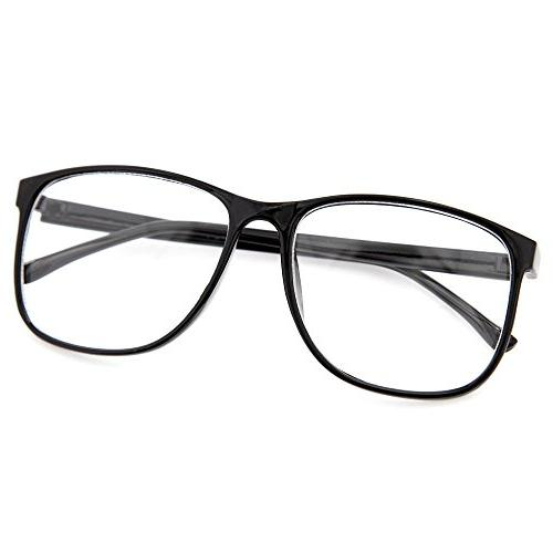 grinderPUNCH Nerdy Thin Plastic Lens Eye Glasses Pack