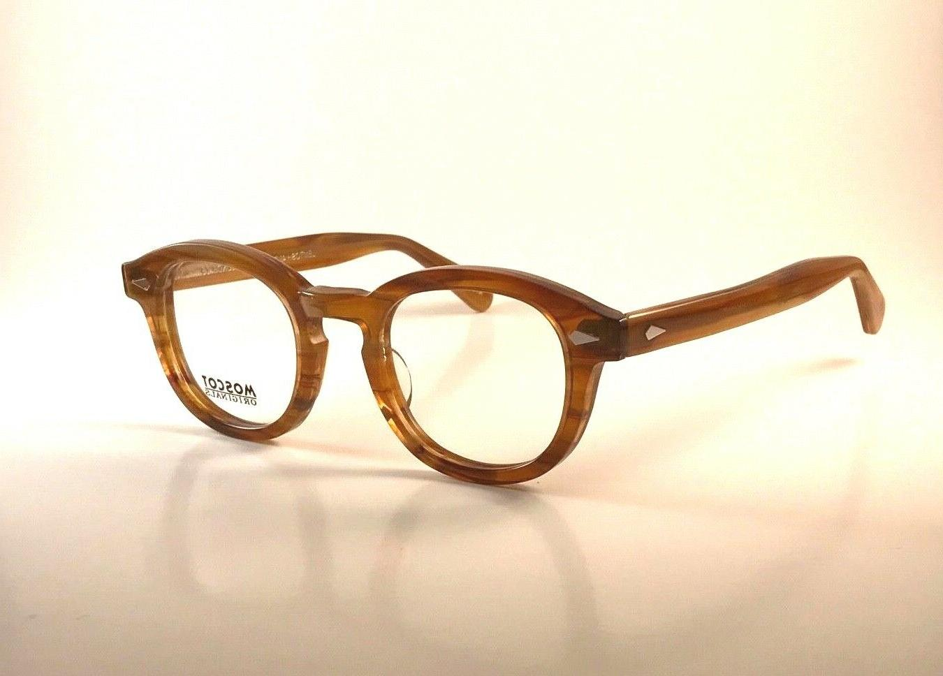 negozio online 008b6 8fadc Moscot Originals Lemtosh Blonde Eyeglasses James Dean Johnny