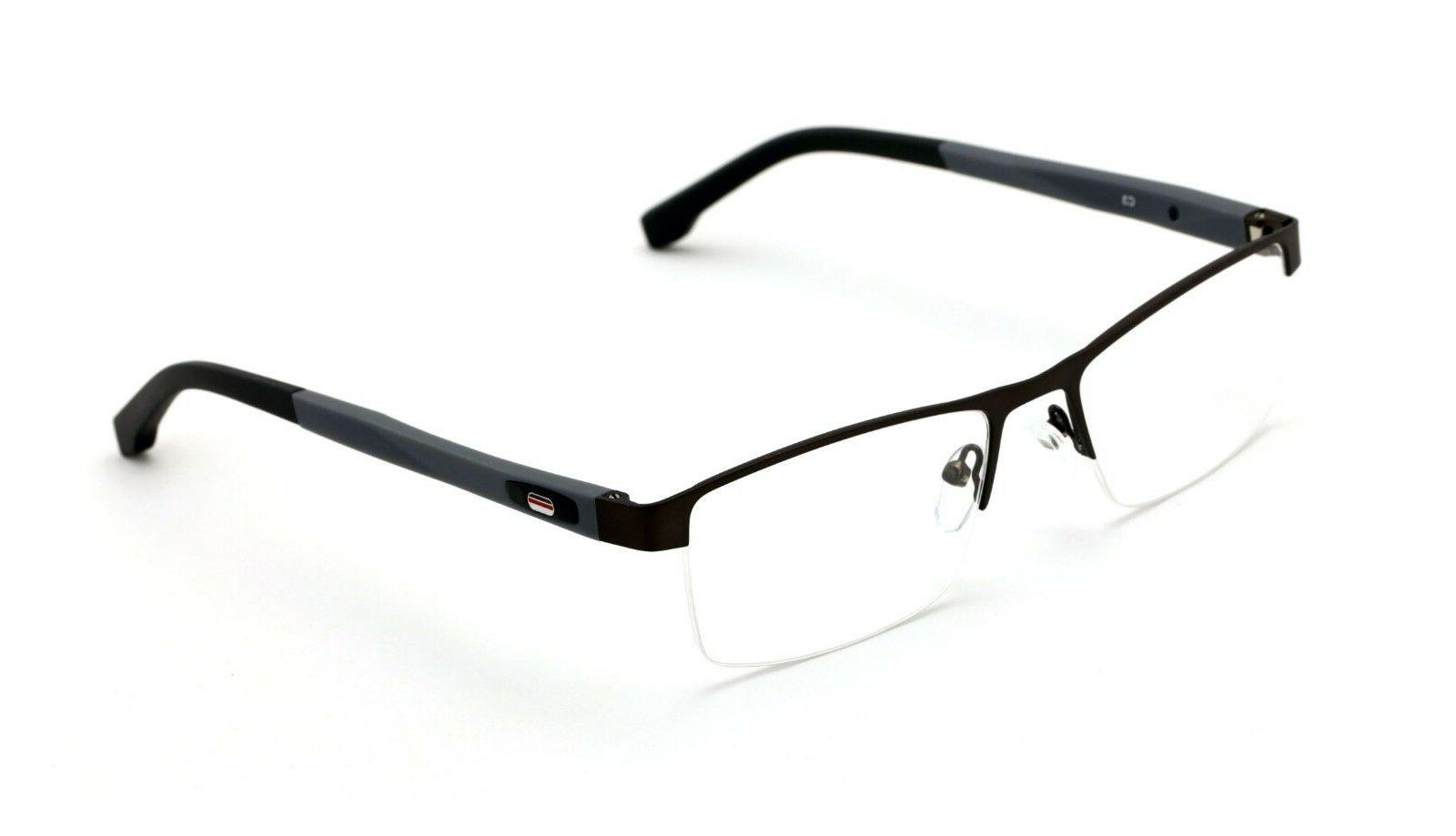 men rectangular non prescription glasses frame clear