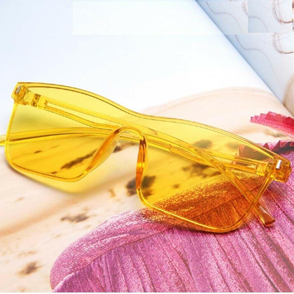 Men's Square Sunglasses Vintage Accessories Uv400
