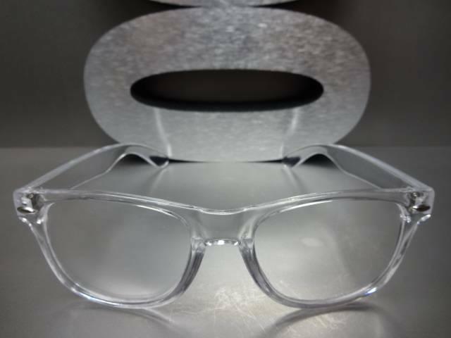 Men's Women VINTAGE RETRO Style Clear Lens EYE GLASSES Crystal