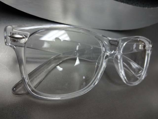 Men's Women Style Lens GLASSES Crystal Frame