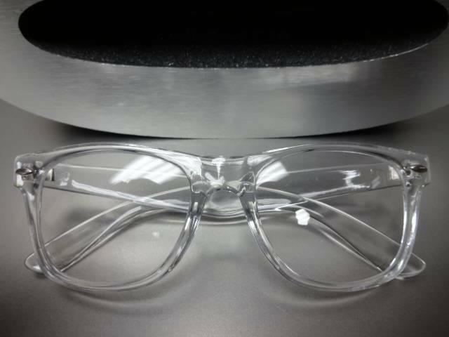 Style Clear Lens GLASSES Transparent Crystal