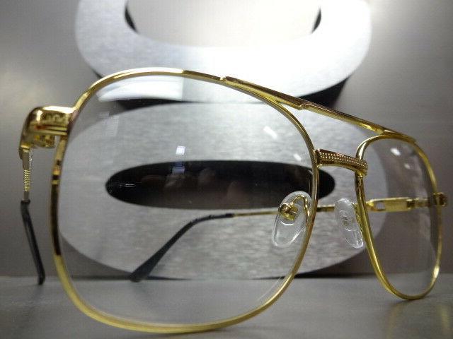 Men VINTAGE Style Clear GLASSES Frame