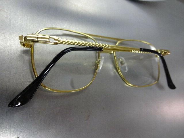 Men VINTAGE RETRO Style Clear GLASSES Frame
