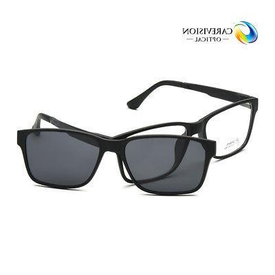 men women eyeglasses frame magnetic clip on