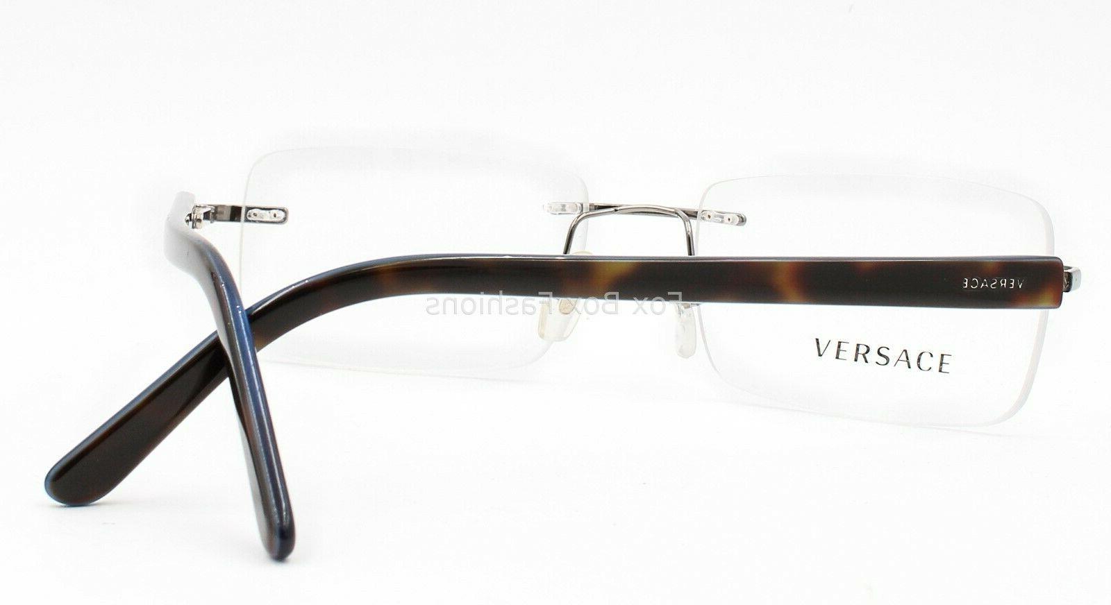 Rimless Eyeglasses Glasses Silver /