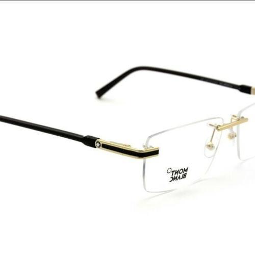 montblanc rimless men s eyeglasses mb 0692
