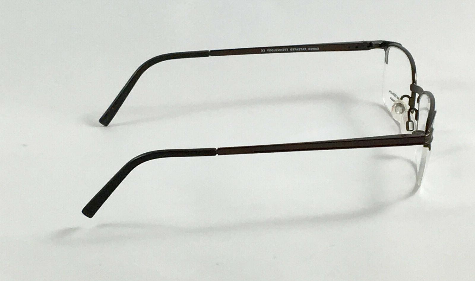 New Men's Eyeglasses W/ Clip On Sunglasses
