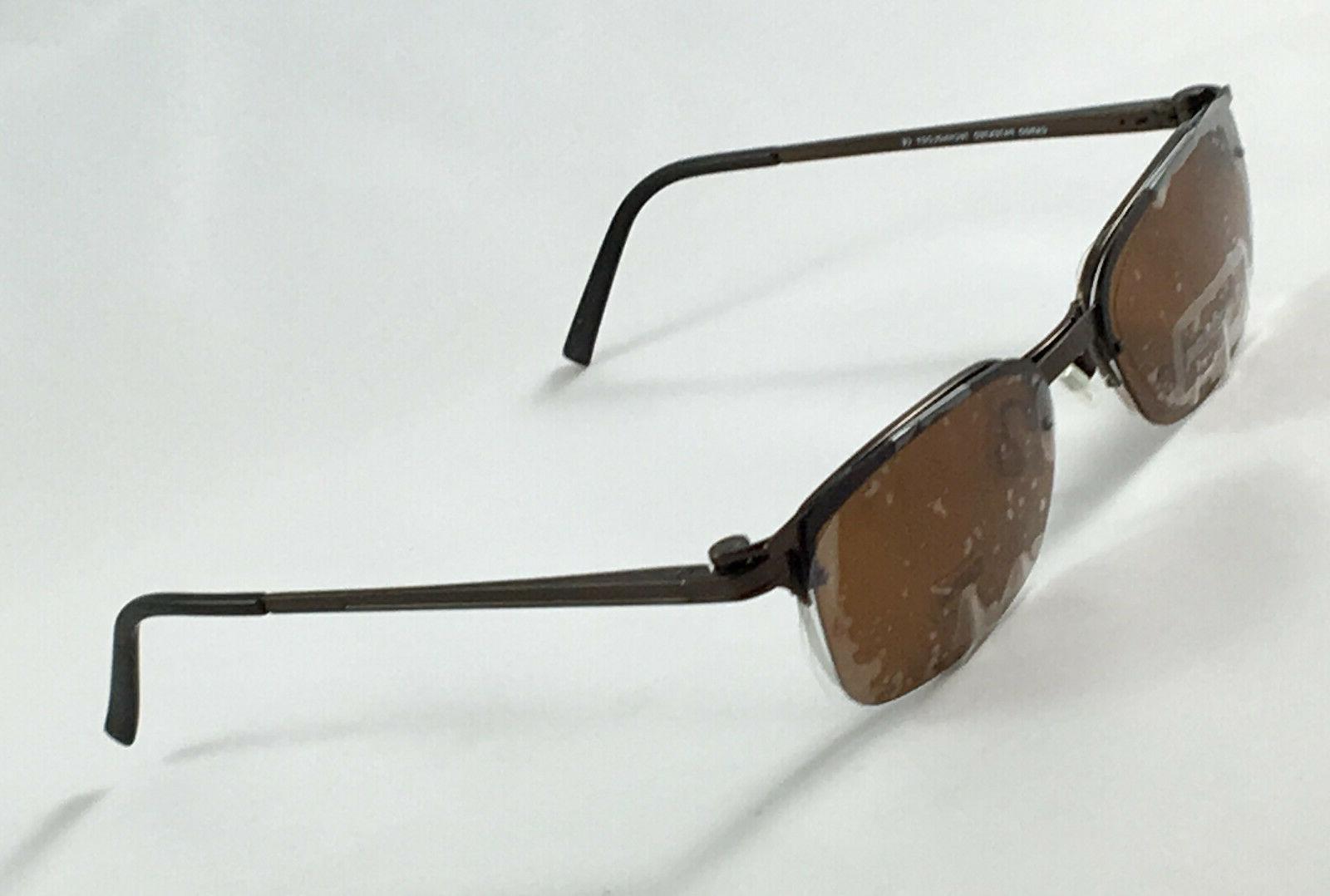 New Men's Eyeglasses W/ On Sunglasses 50-19-140